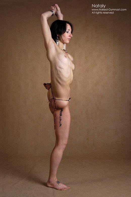 extreme nude gymnastics masturbation in gymnastic positions